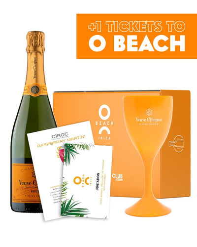 Image: O Beach x The Bottle Club Veuve Clicquot VIP Gift Box
