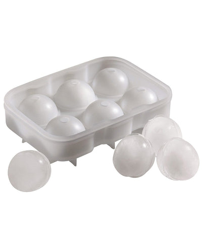 Image: Beaumont 6 Cavity Clear Silicone Ice Ball Mould