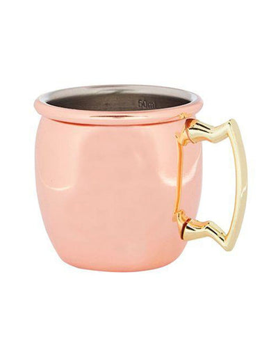 Image: Beaumont Copper Curved Mini Jigger Mug