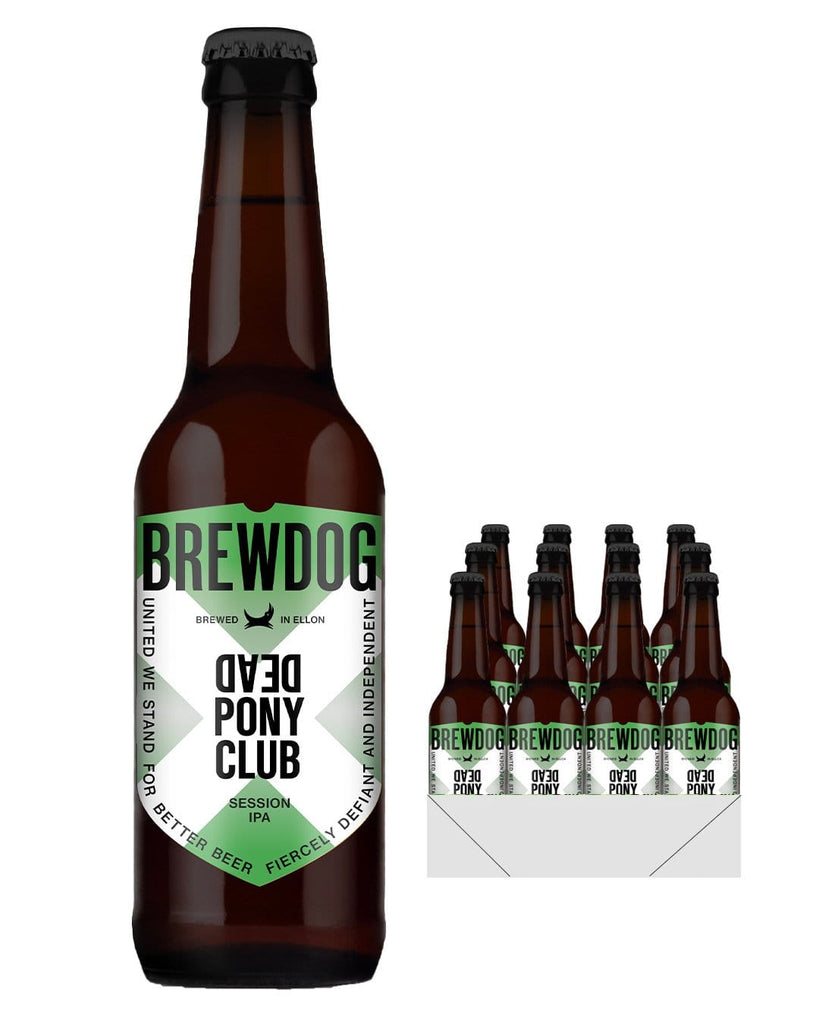 BrewDog Dead Pony Club Pale Ale Bottle Multipack, 12 x 330 ml