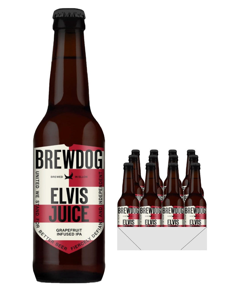 BrewDog Elvis Juice Beer Multipack, 12 x 330 ml