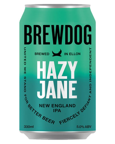 Image: BrewDog Hazy Jane Beer Can, 330 ml