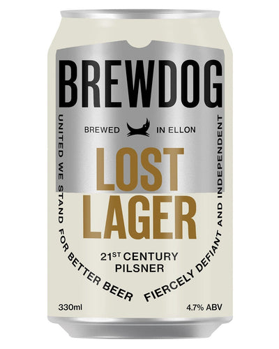 Image: BrewDog Lost Lager Can, 330 ml