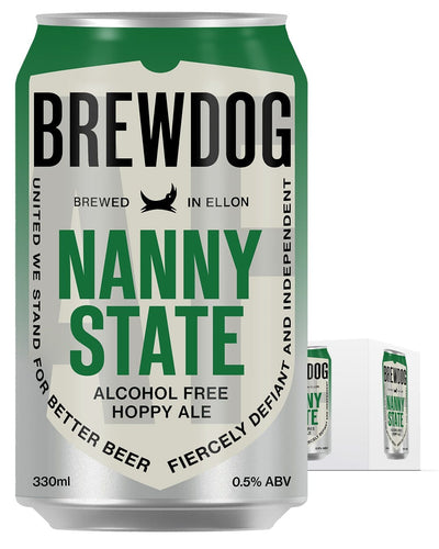 Image: BrewDog Nanny State Can Multipack, 4 x 330ml