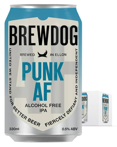 Image: BrewDog Punk AF Can Multipack, 4 x 330ml
