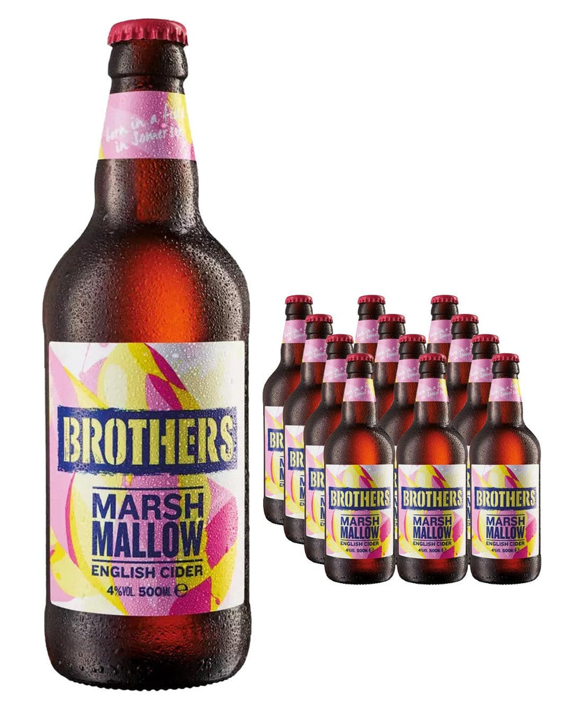 Brothers Marshmallow Premium Cider Multipack, 12 x 500 ml