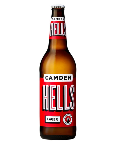 Image: Camden Town Brewery Hells Lager Bottle, 1 x 660 ml