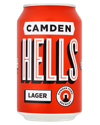 Image: Camden Town Brewery Hells Lager Can, 1 x 330 ml