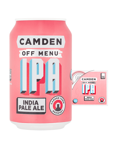 Image: Camden Town Brewery Off Menu IPA Lager Can Multipack, 12 x 330 ml