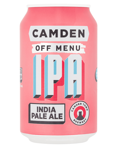 Image: Camden Town Brewery Off Menu IPA Lager Can, 1 x 330 ml