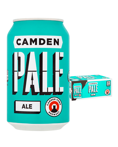 Image: Camden Town Brewery Pale Ale Lager Can Multipack, 12 x 330 ml