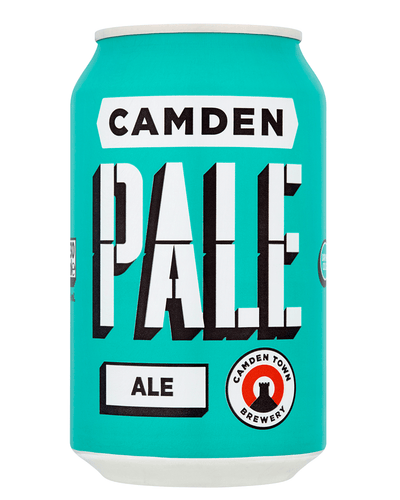 Image: Camden Town Brewery Pale Ale Lager Can, 1 x 330 ml