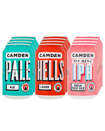 Image: Camden Town Brewery Trio Can Multipack, 12 x 330 ml