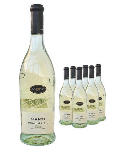 Image: Canti Pinot Grigio White Wine (Case of 6 x 75 cl)