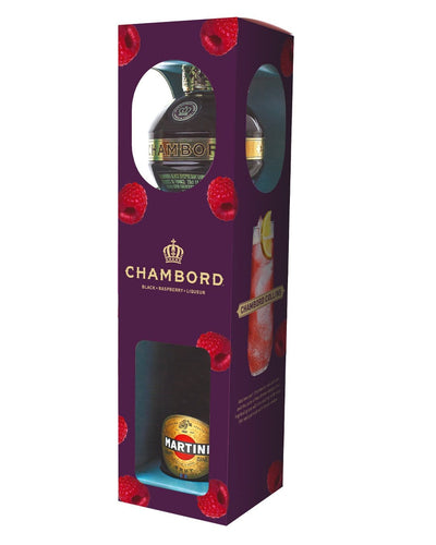 Image: Chambord & Martini Prosecco Gift Pack, 2 x 20 cl