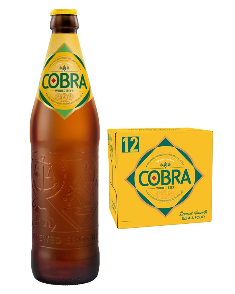 Cobra Extra Smooth Premium Lager Beer, 12 x 660 ml Multipack