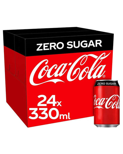 Image: Coca-Cola Coke Zero Can Multipack, 24 x 330 ml