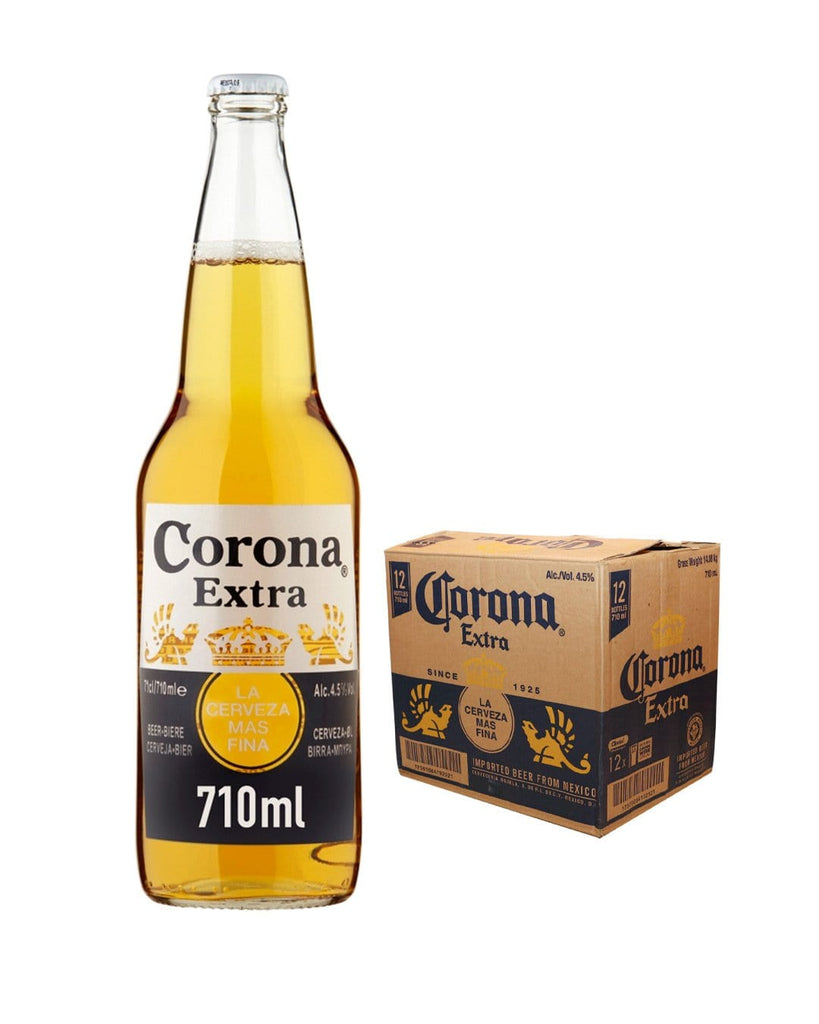 Corona Extra Lager Bottle Multipack, 12 x 710 ml