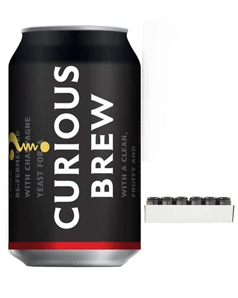 Curious Brew Lager Multipack, 24 x 330 ml