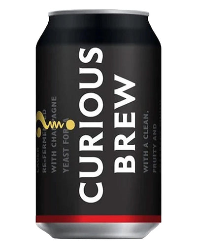 Image: Curious Brew Lager Can, 330 ml