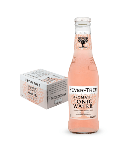 Image: Fever-Tree Aromatic Tonic Water, 24 x 200 ml Multipack