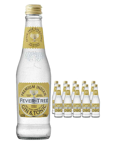 Image: Fever-Tree Premium Indian Gin & Tonic Multipack, 12 x 275 ml