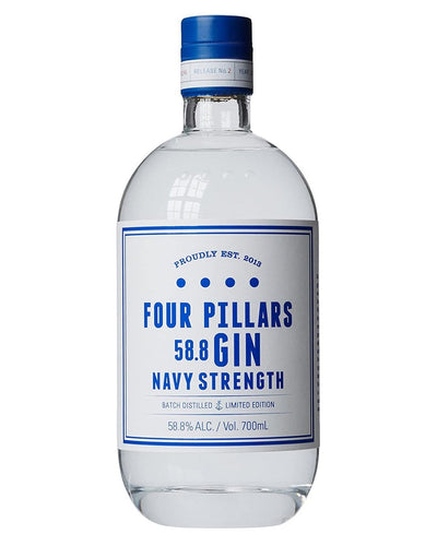 Image: Four Pillars Navy Strength Gin, 70 cl