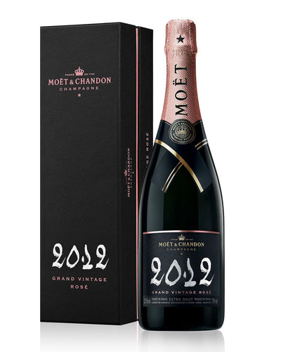 Image: Moët & Chandon Grand Vintage Rosé 2012 in Gift Box, 75 cl