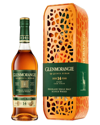 Image: Glenmorangie Quinta Ruban 14 Year Old Whisky Giraffe Gift Set, 70 cl
