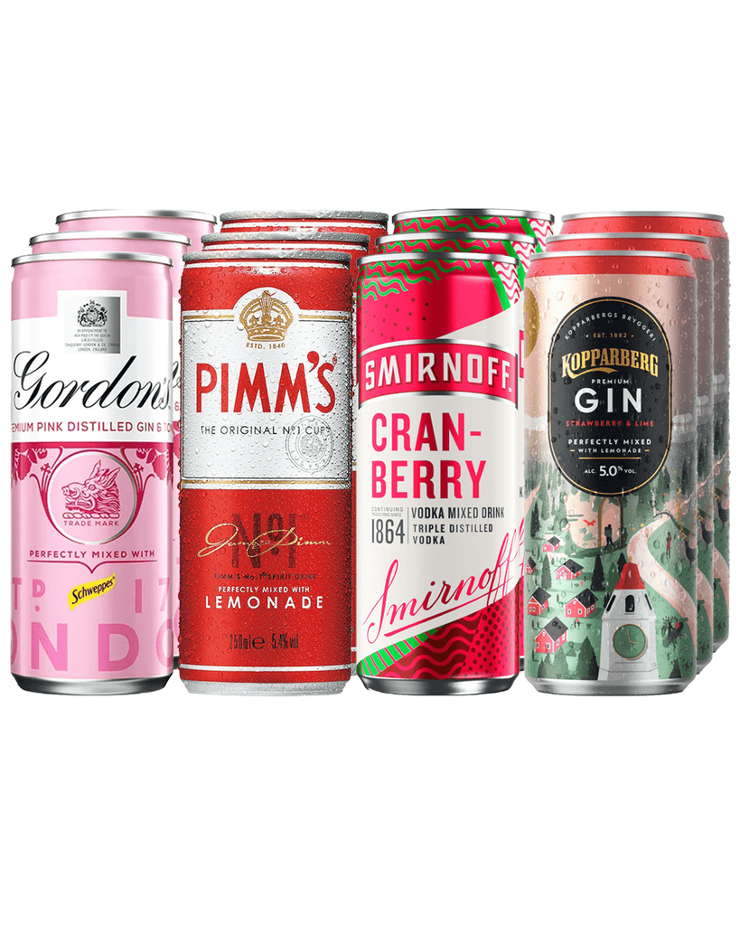 Pink Premixed Cocktails Party Pack
