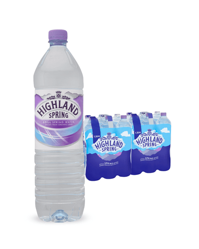 Image: Highland Spring Still Mineral Water Multipack, 12 x 1.5 L