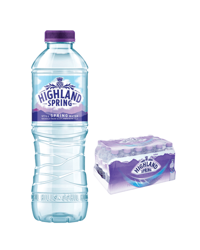 Image: Highland Spring Still Mineral Water Multipack, 24 x 500 ml