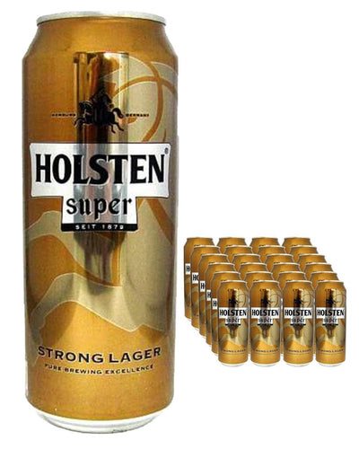 Image: Holsten Pils Super Strength Premium Pilsener Multipack, 24 x 500 ml 23/02/2021