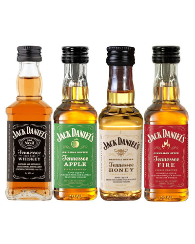 Image: Jack Daniel's Whiskey Quad Miniature Pack, 4 x 5 cl
