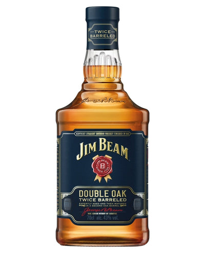 Image: Jim Beam Double Oak Bourbon, 70 cl