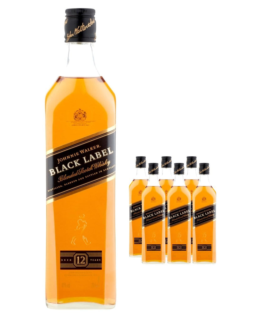 Johnnie Walker Black Label Whisky (Case of 6 x 70 cl Bottles)