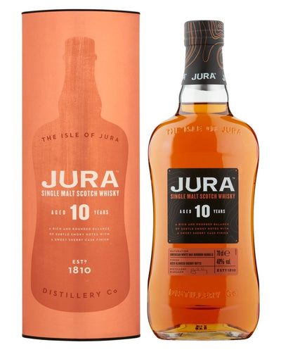 Image: Jura 10 Year Old Whisky, 70 cl