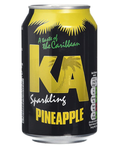 Image: KA Sparkling Pineapple Fizzy Drink Multipack, 24 x 330 ml