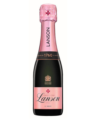 Image: Lanson Rose Quarter Bottle, 20 cl