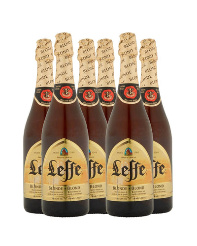 Image: Leffe Blonde Belgian Ale Bottle Multipack, 6 x 750 ml