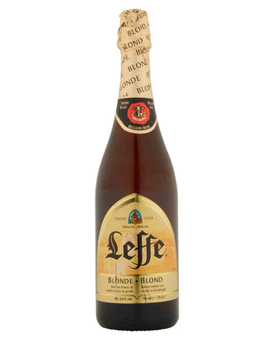 Image: Leffe Blonde Belgian Ale Bottle, 1 x 750 ml