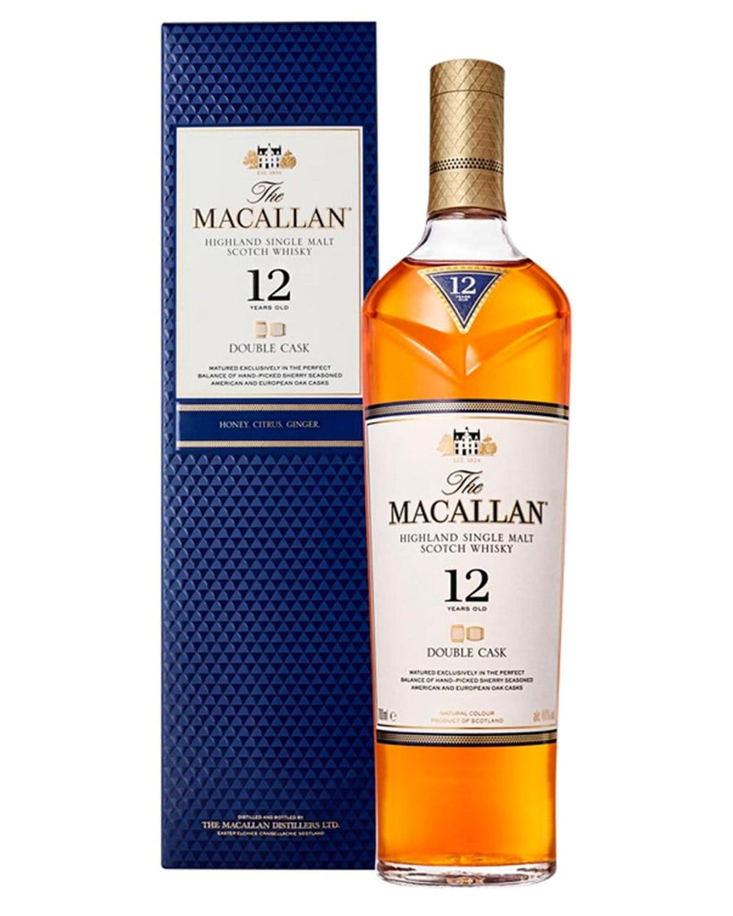 Macallan 12 Year Old Double Cask Malt Whisky, 70 cl