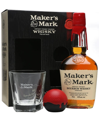 Image: Maker's Mark Gift With With Glass & Ice Mould, 70 cl