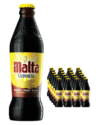 Image: Malta Guinness Non Alcoholic Stout Beer Bottle Multipack, 24 x 330 ml