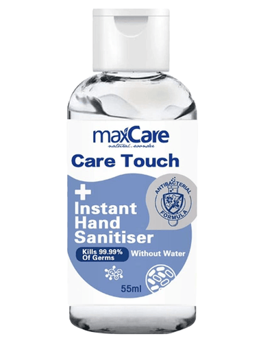 Image: Max Care Hand Sanitiser 55ml (75% Alc.)
