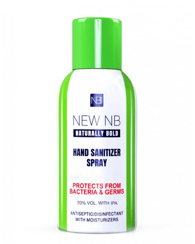 Image: New NB Naturally Bold Hand Sanitiser Spray 120 ml (70% Alc.)