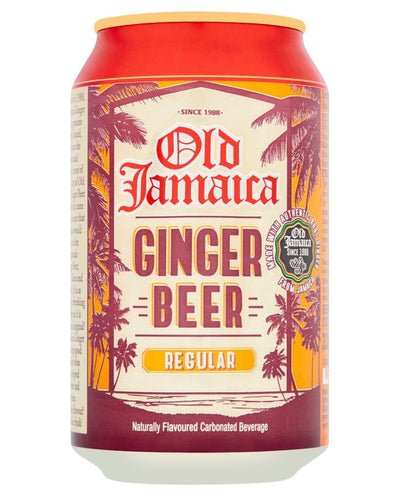 Image: Old Jamaica Sparkling Ginger Beer Soda Drink Multipack, 24 x 330 ml