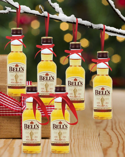 Image: PRE-ORDER Merry Baubles - Bell's Whisky Miniature Set