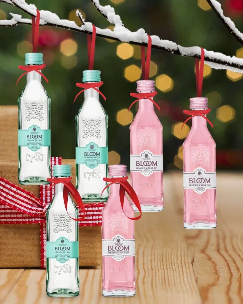 PRE-ORDER Merry Baubles – Bloom Gin Duet Miniature Set £19.99 @ The Bottle Club