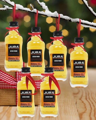 Image: PRE-ORDER Merry Baubles - Jura Seven Wood Whisky Miniature Set